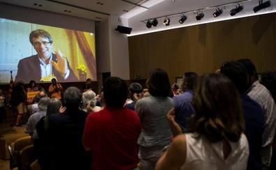 Puigdemont afirma que la decisión de Llarena «demuestra la debilidad inmensa de la causa judicial»