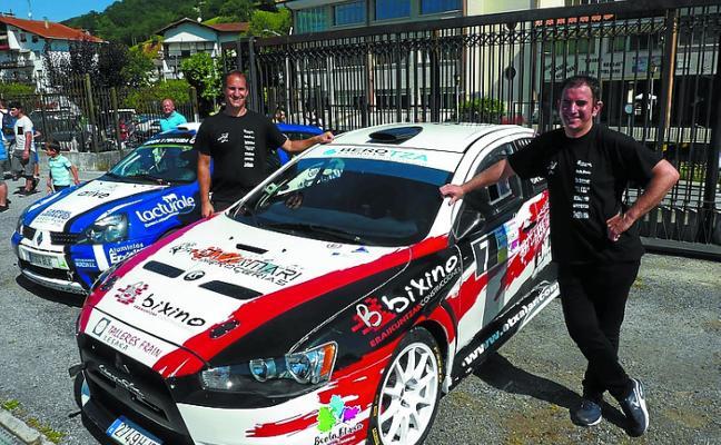 Beola e Iratzoki se imponen en el IX Rally Villa de Fitero