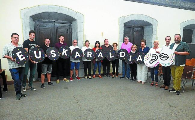 Apoyo unánime de Elgoibar al programa Euskaraldia