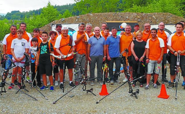 Los arqueros beasaindarras cuentan con nuevo campo de tiro al aire libre