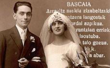 Un convite euskaldun de 1929 en Azpeitia