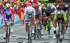 De repente, la carrera se acuerda de los sprinters