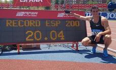 Bruno Hortelano, récord de España de 200... y lo que queda