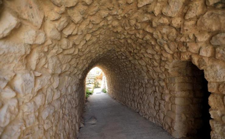 El castillo de Belfort, en ruinas