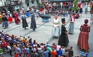 Fiesta gigante en Azpeitia