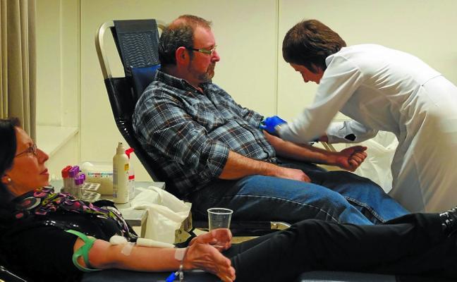 Las donaciones de sangre se llevarán a cabo esta tarde en la casa de cultura