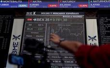 El Ibex-35 remonta un 0,48% impulsado por las acereras y la banca