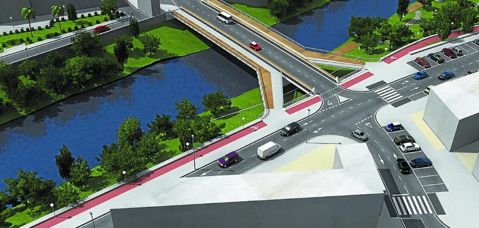 Expropiados los terrenos que dan vía libre a las obras del puente de Txomin