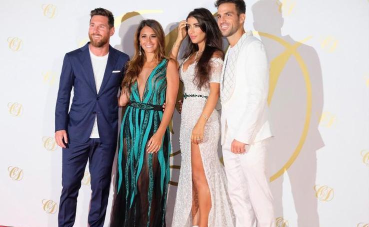 Cesc Fábregas y Daniella Semaan se han casado en Ibiza