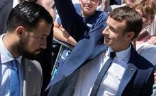 Macron fracasa en su intento de acallar las críticas por la agresión de su guardaespaldas