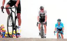 Mikel Landa: «Estoy contento, pero venía a por todas en el Tour de Francia»