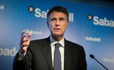 El Sabadell augura que el impuesto a la banca estrangularía el crédito