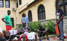 Las ONGs piden «flexibilidad» al Ayuntamiento de Irun para atender a migrantes