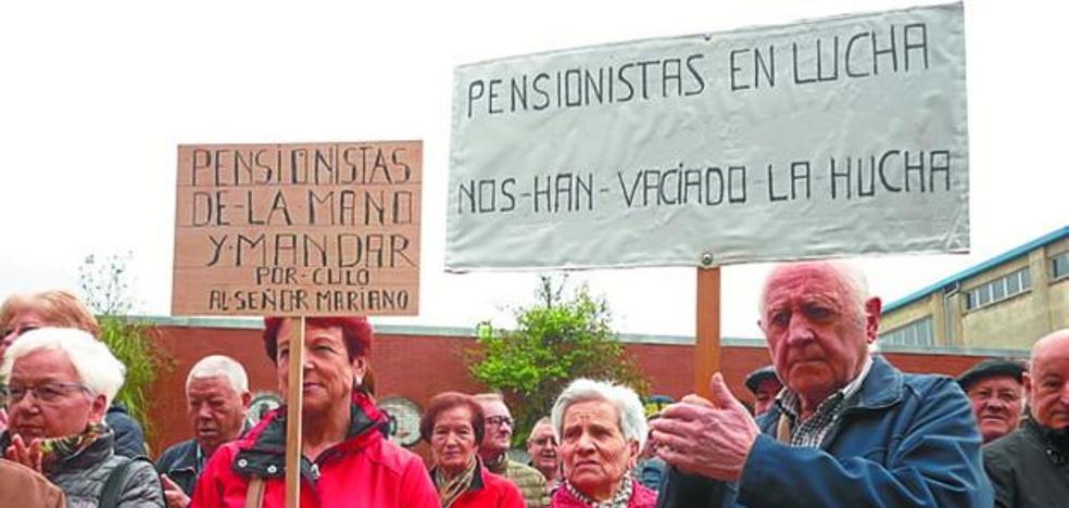 Pensionistas, medio año de protestas…. y siguen