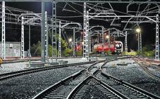 Los trenes se recogen a la medianoche