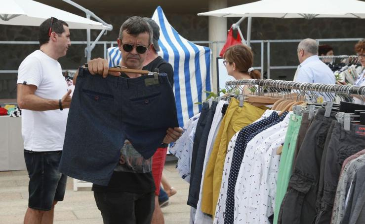 Pop up de moda en pleno Malecón de Zarautz