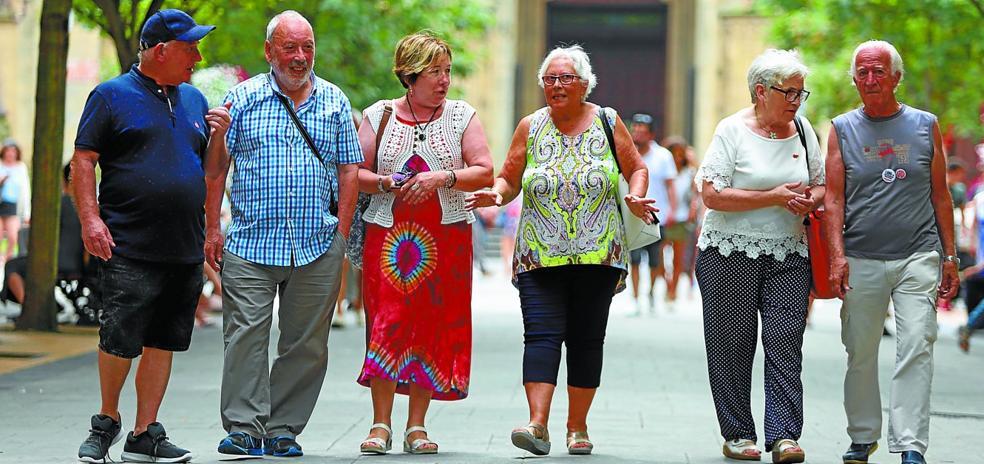 Los 106 euros de Lourdes, los 88 de Iñaki o los 74 de Maite no van a detener a los pensionistas
