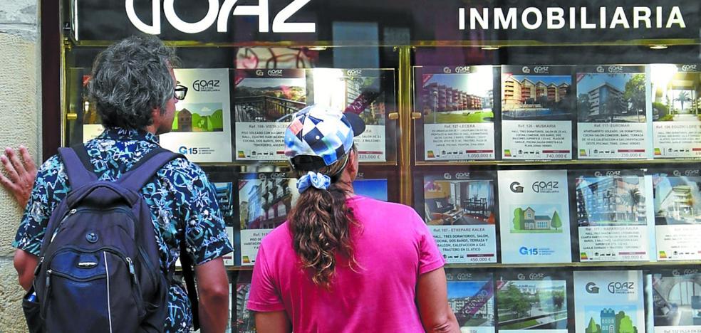 El precio del alquiler en Gipuzkoa se dispara y alcanza máximos inéditos desde hace diez años