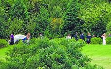 Una boda entre viñedos de txakoli