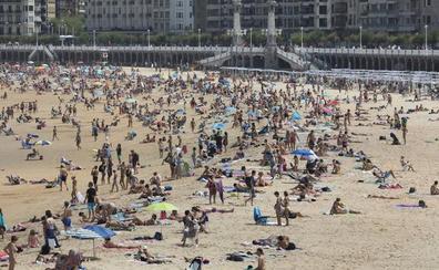 El termómetro se acercará a los 40º en Gipuzkoa en la primera ola de calor del verano
