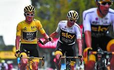Thomas: «Nunca pensé en ganar el Tour; pasará tiempo hasta que lo asimile»