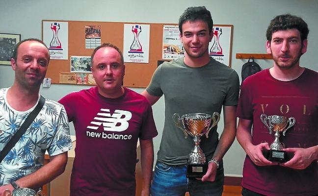 Carlos Sánchez gana la copa Anaitasuna tras imponerse a Juanma Navarro