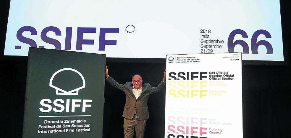 La enigmática dama del Festival de Cine de San Sebastián