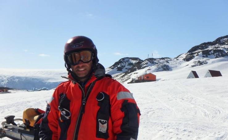 El guipuzcoano que mejor conoce la Antártida