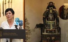 Berria bezala utzi diote armadura Arma Museoko samuraiari