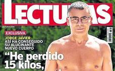 Jorge Javier Vázquez se quita 15 kilos