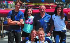 Doble plata en el nacional de sprint olímpico para jóvenes promesas