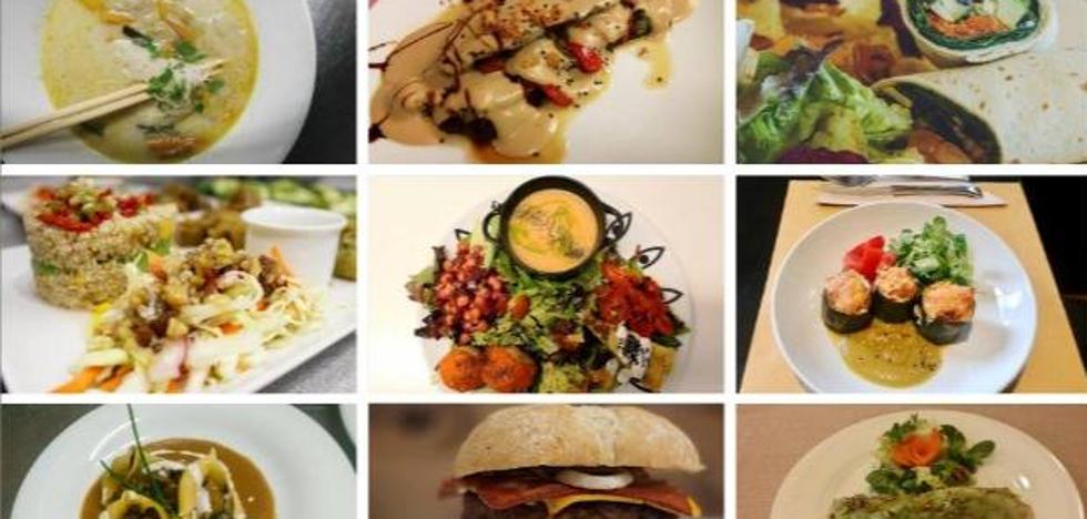 Nueve opciones vegetarianas y veganas de diez