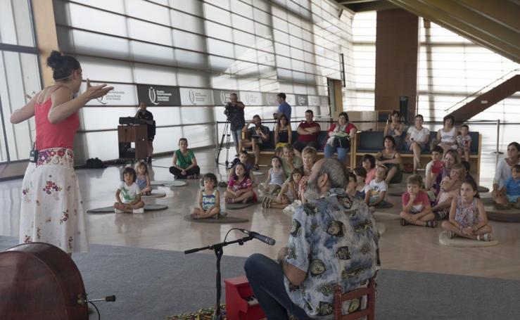 Cuentacuentos musical en la Quincena