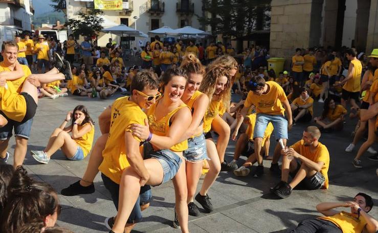 Los jovenes de Oiartzun han disfrutado de su día