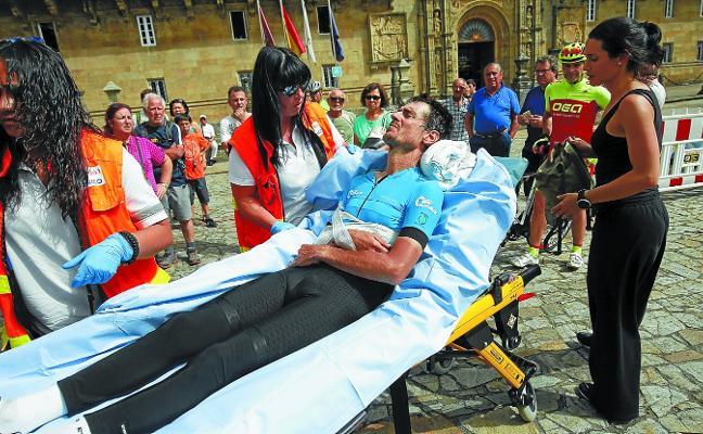 El peligro del Camino esperaba en la plaza del Obradoiro