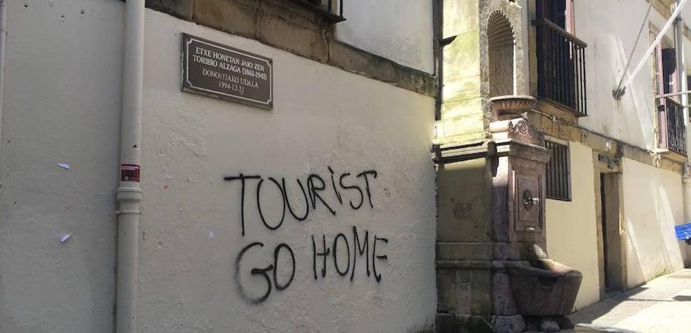 Un café contra el turismo