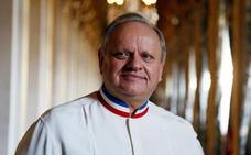 Fallece a los 73 años el chef francés Robuchon, número uno en estrellas Michelin