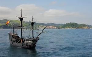 La llegada de la Nao Victoria a Getaria