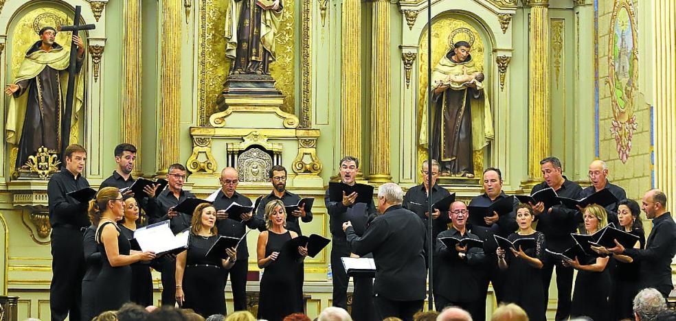 La música antigua suena fiel a su cita en el convento de Santa Teresa
