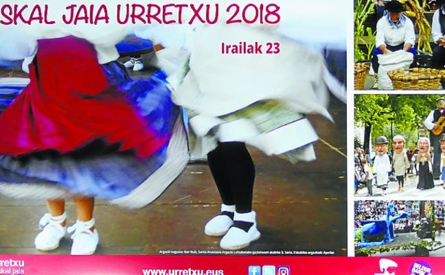 Cartel anunciador de la Euskal Jaia y IV Rally fotográfico de fiestas