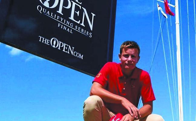 Xabier Gorospe da el salto al golf profesional