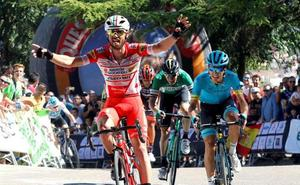 Alex Aranburu, tercero en la Vuelta a Burgos