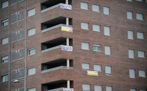 Euskadi se sitúa a la cola de la compraventa de viviendas en junio, con el 6,9% menos