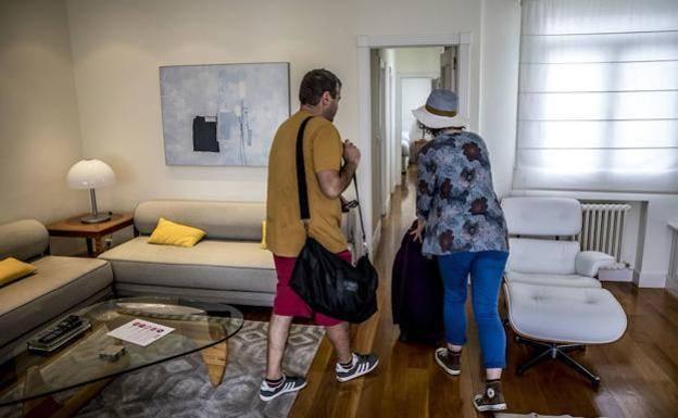 El 99% de los apartamentos turísticos de Donostia ocupados para la Semana Grande de la ciudad
