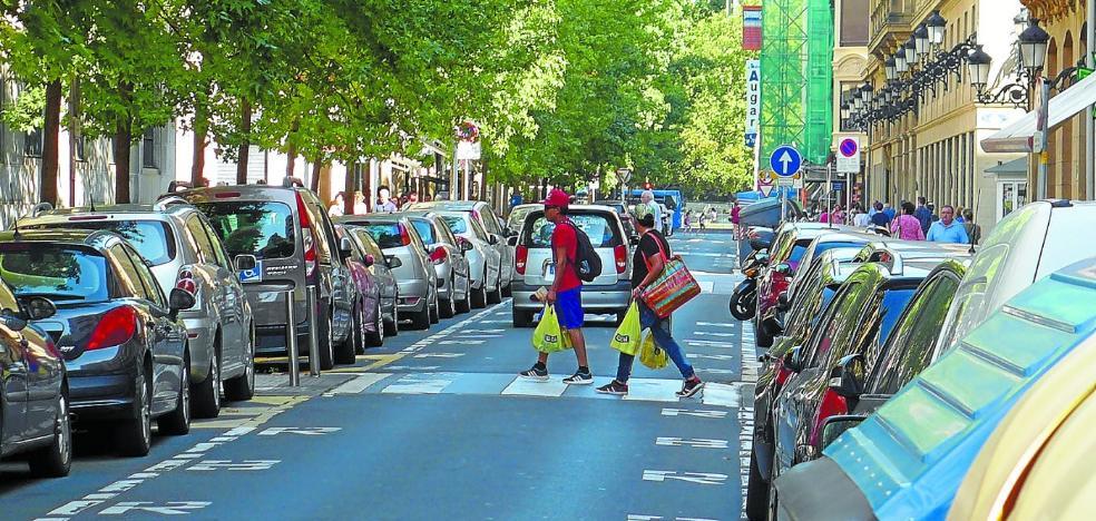 Los comerciantes de Garibay vuelven a reclamar la peatonalización de la calle
