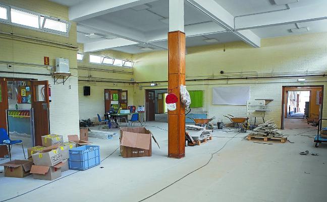 Las áreas de Educación y Obras realizan mejoras en varios centros educativos