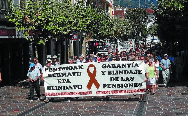 Los pensionistas preparan una gran manifestación comarcal para el sábado 25