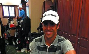 Adrián Otaegui: «No me impresiona cruzarme con Tiger en el vestuario»