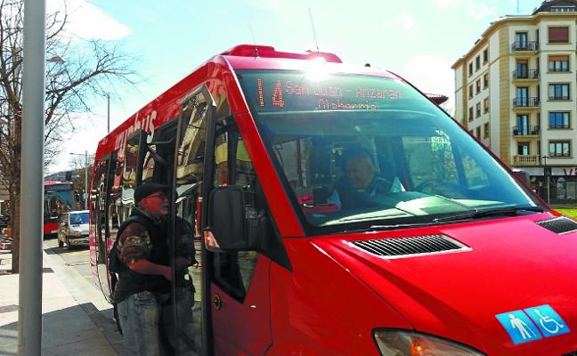 Irunbus cerró el mes de julio con 3.000 viajeros más que el año pasado