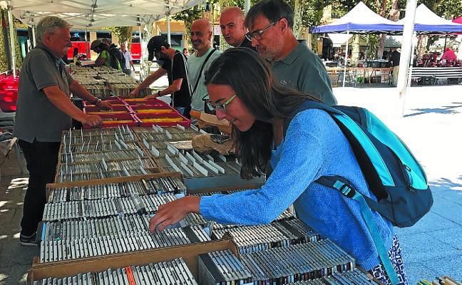 La Feria de Coleccionismo se instalará el sábado en el Ensanche